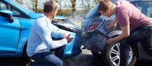 qué hacer en caso de accidente vehicular